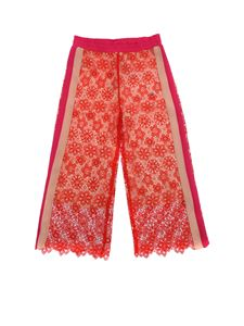 Pinko Up - Ansiei pink and red trousers