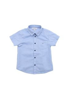Emporio Armani - Light blue printed shirt
