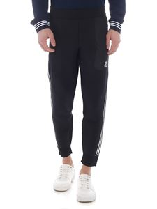 Adidas Originals - Black pants with 3 white stripes