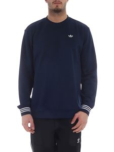 Adidas Originals - Crewneck sweatshirt in blue with logo