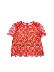 Pinko Up - T-shirt Aniene rossa