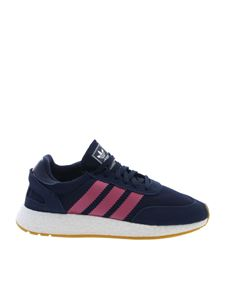 Adidas Originals - I-5923 blue and pink sneakers