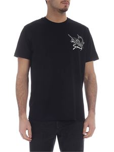 Givenchy - Givenchy black printed T-shirt