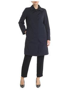 Peserico - Unlined blue overcoat