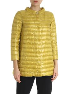 Herno - Lime green Rossella down jacket