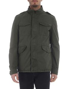 Herno - Green jacket with front pockets