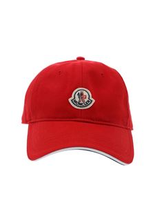 Moncler - Red baseball cap