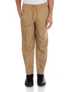 Kenzo - Beige trousers with drawstring