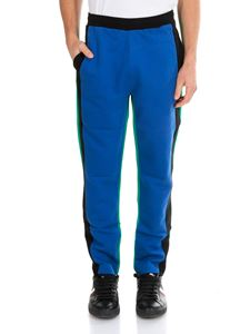 Kenzo - Bicolor trousers with contrasting bands