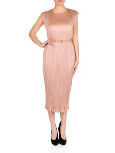 Max Mara - Pink pleated Gineceo dress