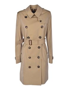 Burberry - Kensington double-breasted trench coat in beige