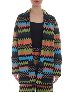 M Missoni - Multicolour cardigan with lapels