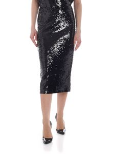 Michael Kors - Black sheath skirt with sequins