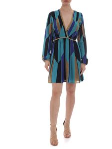 M Missoni - Mini dress in shades of blue