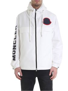 Moncler - Montreal white jacket with hood