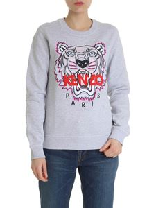 Kenzo - Classic Tiger pink and fuchsia sweatshirt