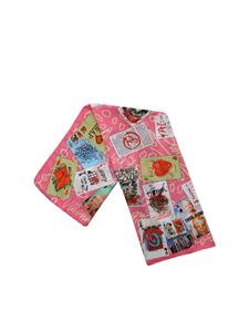 Vivienne Westwood  - Pink Playing Cards foulard