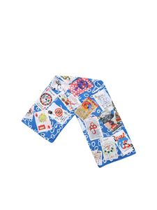 Vivienne Westwood  - Blue Playing Cards foulard