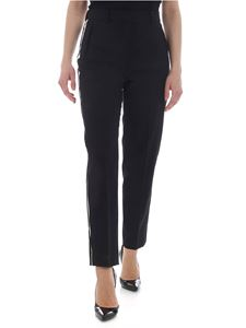 Calvin Klein - Black trousers with side bands