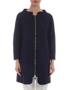 Herno - Giacca in cotone blu
