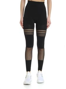 Adidas by Stella McCartney - Black leggings with cut-out details