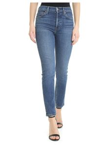 Re/Done - Blue high waisted Re/Done jeans
