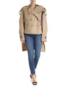 R13 - Trench Tuck-In beige scuro