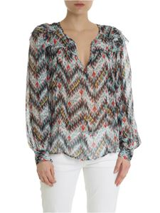Isabel Marant Étoile - Enfield multicor blouse in silk