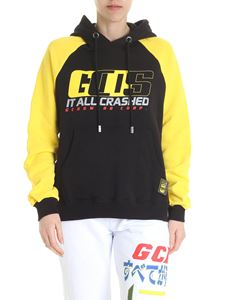 GCDS - Black and yellow GCDS sweatshirt