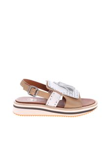 Botti - Sandals with tassels and fringes