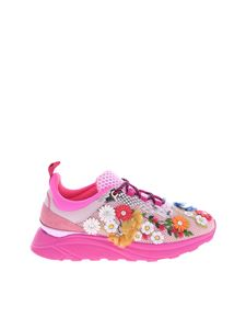 Blumarine - Blumarine sneakers with flower embroideries