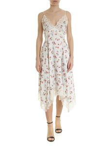 Ermanno by Ermanno Scervino - White floral dress with lace