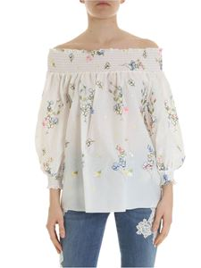 Blugirl - Floral off shoulder top