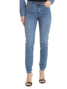 Michael Kors - Selma light blue jeans with studs