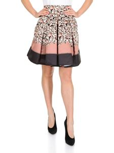 Elisabetta Franchi - Flared printed skirt with pleats