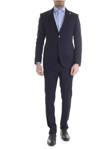 Luigi Bianchi Mantova - Luigi Bianchi Mantova single-breasted suit in blue