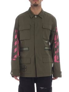 Off-White - Military green Field Off-White jacket