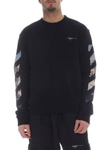 Off-White - Diag Colored Arrows hoodie in black