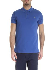 Etro - Etro polo in blue piqué cotton