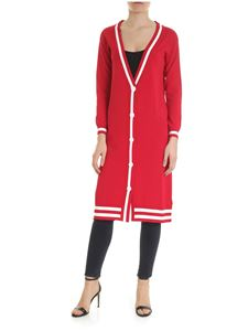 Ermanno by Ermanno Scervino - Red long cardigan