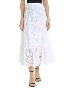Ermanno by Ermanno Scervino - White lace skirt