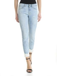 Dondup - Blue faded Newdia jeans