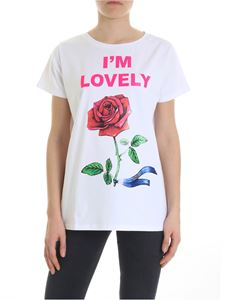 Blugirl - White I'm Lovely T-shirt