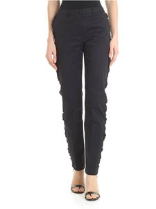 Blugirl - Black ruffled trousers