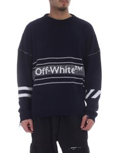 Off-White - Blue Off-White sweater