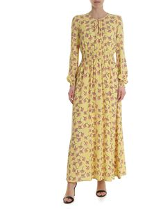 Baum Und Pferdgarten - Yellow dress with contrasting floral print