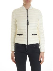 Moncler - Blenca cream-colored down jacket