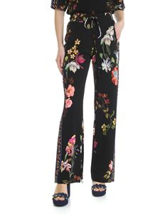 Etro - Etro trousers with floral pattern