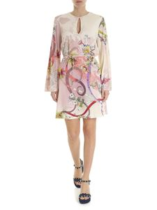 Etro - Etro dress in ivory color with floral motif