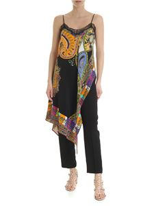 Etro - Etro long top with Africa motif